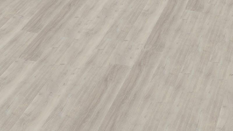 Rigid-Vinyl mit integrierter Dämmung BoDomo Klassik Eiche Sevilla Produktbild Musterfläche von oben grade zoom