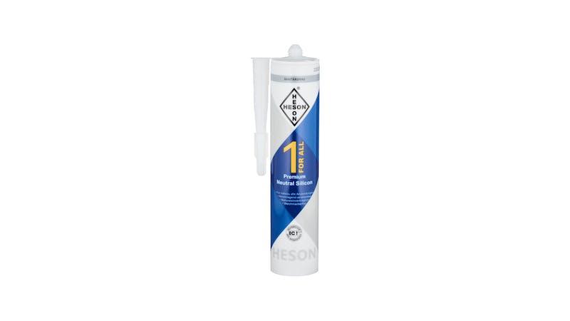 Silikon - Sanitärgrau - 310 ml Produktbild
