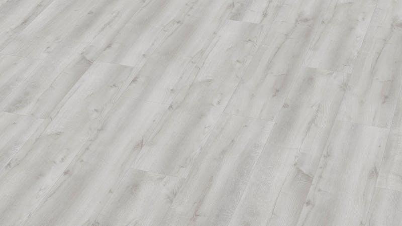 Laminat BoDomo Premium Castle Oak White Produktbild Musterfläche von oben grade zoom
