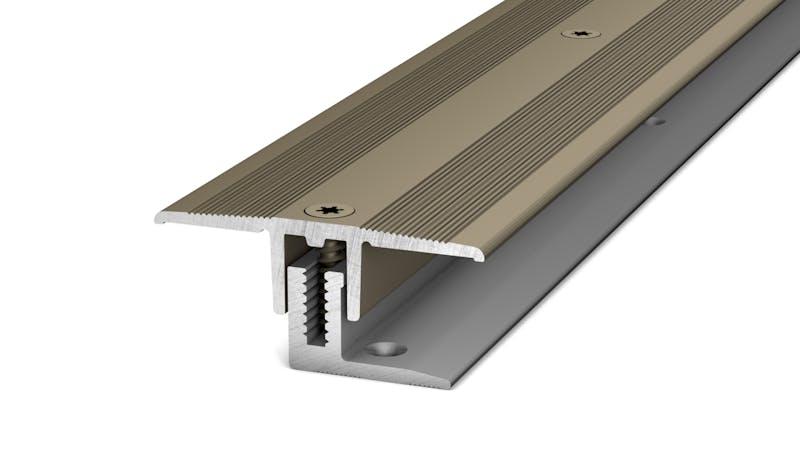 Übergangsprofil - Edelstahl matt - 34 mm x 270 cm Produktbild