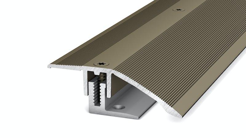 Anpassungsprofil - Edelstahl matt - 44 mm x 270 cm Produktbild
