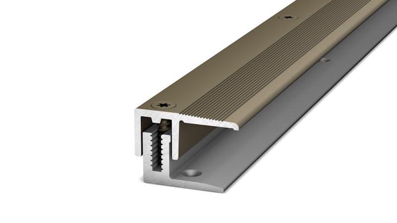 Abschlussprofil - Edelstahl matt - 22 mm x 270 cm Produktbild