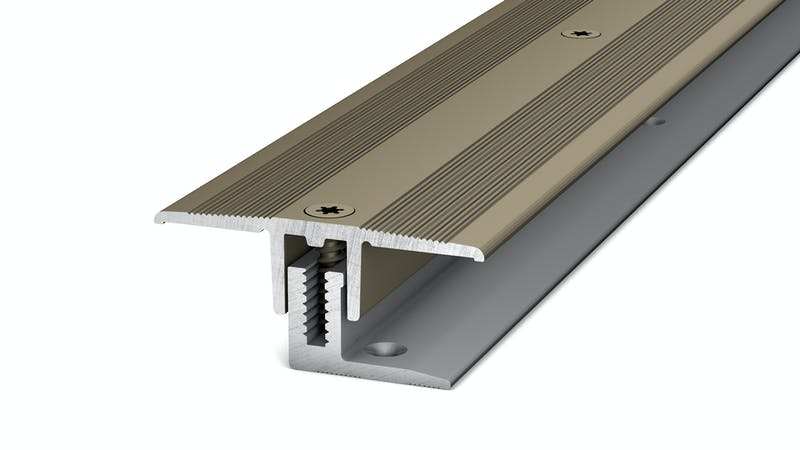 Übergangsprofil - Edelstahl matt - 34 mm x 100 cm Produktbild