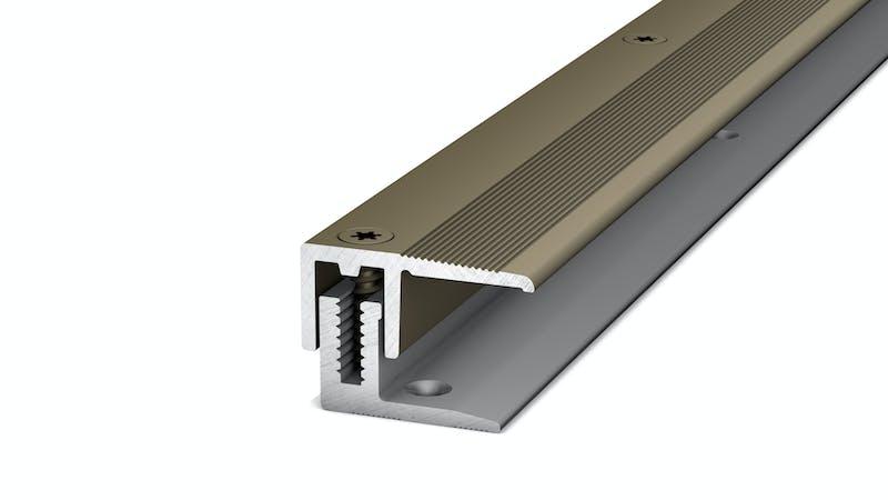 Abschlussprofil - Edelstahl matt - 22 mm x 100 cm Produktbild