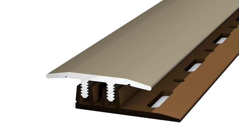 Übergangsprofil - Edelstahl matt - 27 mm x 270 cm Produktbild
