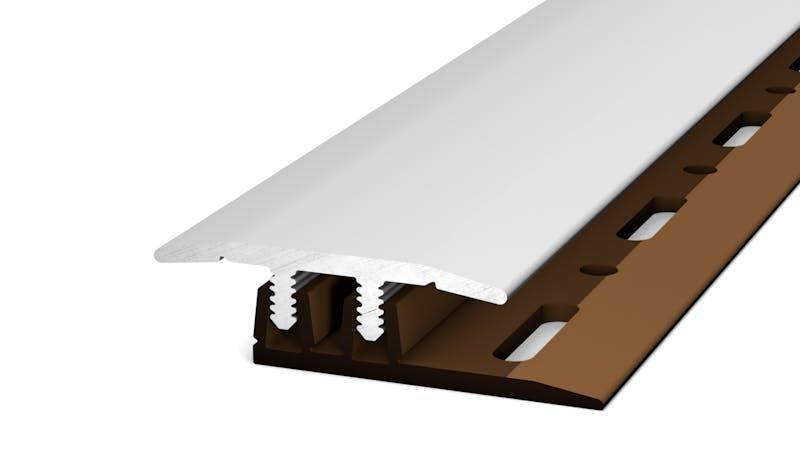 Übergangsprofil - Silber - 27 mm x 100 cm Produktbild