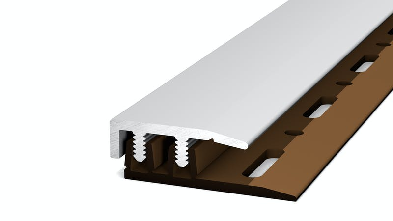 Abschlussprofil - Silber - 21 mm x 100 cm Produktbild