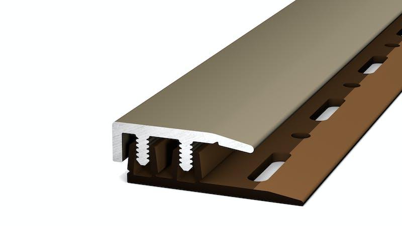 Abschlussprofil - Edelstahl matt - 21 mm x 100 cm Produktbild