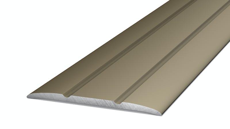 Übergangsprofil selbstklebend - Edelstahl matt - 38 mm x 270 cm Produktbild