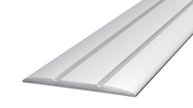 Übergangsprofil selbstklebend - Silber - 38 mm x 100 cm Produktbild