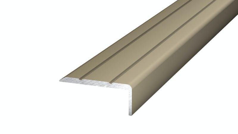 Winkelprofil selbstklebend - Edelstahl matt - 24,5 mm x 10 mm x 270 cm Produktbild