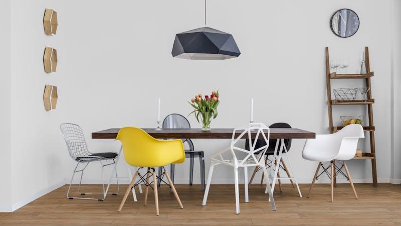 Laminat BoDomo Premium Eiche Orient Natur Produktbild Küche & Esszimmer - Modern mit Treppe zoom