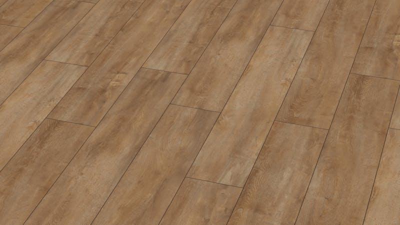 Laminat BoDomo Premium Eiche Orient Natur Produktbild Musterfläche von oben grade zoom