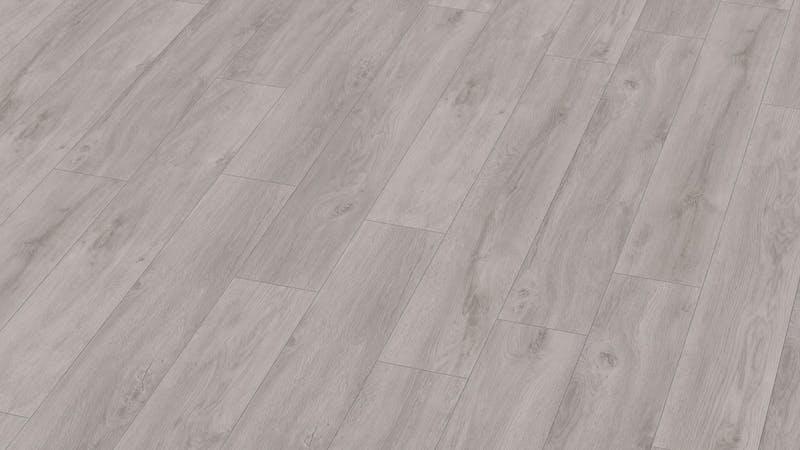Laminat BoDomo Exquisit Eiche Klassik Grau Produktbild Musterfläche von oben grade zoom