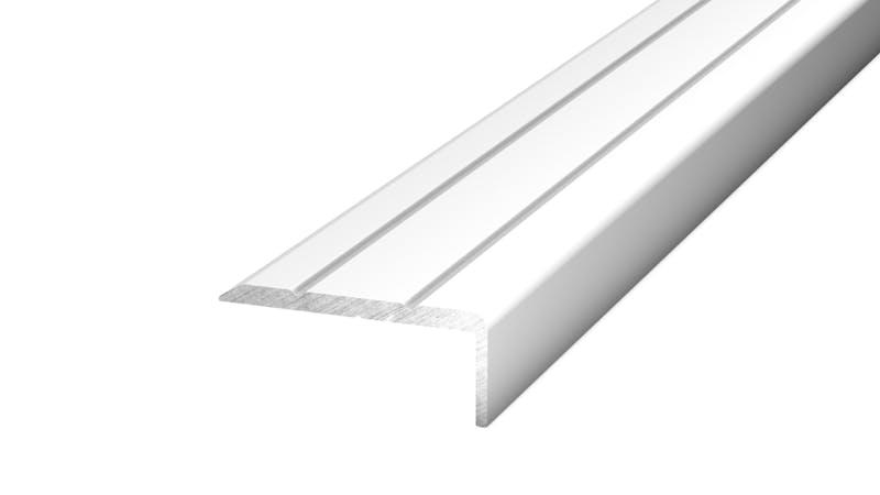 Winkelprofil selbstklebend - Silber - 24,5 mm x 10 mm x 100 cm Produktbild