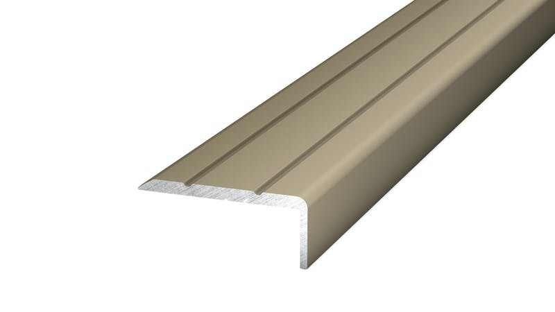 Winkelprofil selbstklebend - Edelstahl matt - 24,5 mm x 10 mm x 100 cm Produktbild