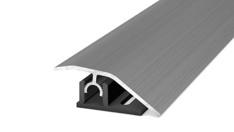 Anpassungsprofil - Edelstahl gebürstet - 44 mm x 270 cm Produktbild