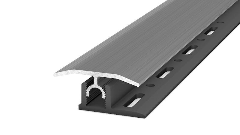 Übergangsprofil - Edelstahl gebürstet - 34 mm x 100 cm Produktbild