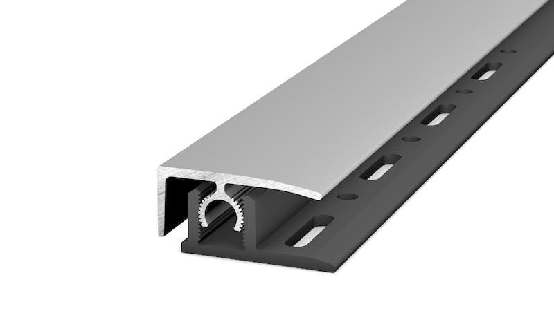 Abschlussprofil - Silber - 26 mm x 100 cm Produktbild