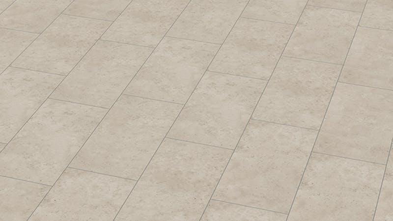 Klick-Vinyl BoDomo Exquisit Screed Pure Produktbild Musterfläche von oben grade zoom
