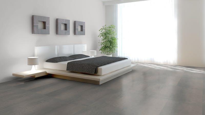 Klick-Vinyl Windmöller wineo 800 Rough Concrete Produktbild Schlafzimmer - Urban zoom