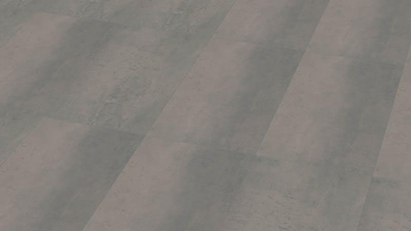 Klick-Vinyl Windmöller wineo 800 Rough Concrete Produktbild Musterfläche von oben grade zoom