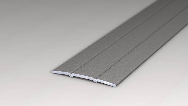 Übergangsprofil selbstklebend - Grau Metallic - 38 mm x 100cm Produktbild