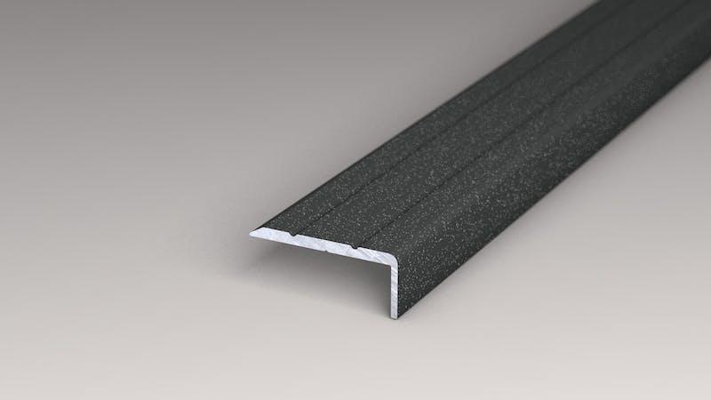 Winkelprofil selbstklebend - Anthrazit Metallic - 24,5 mm x 10 mm x 100 cm Produktbild