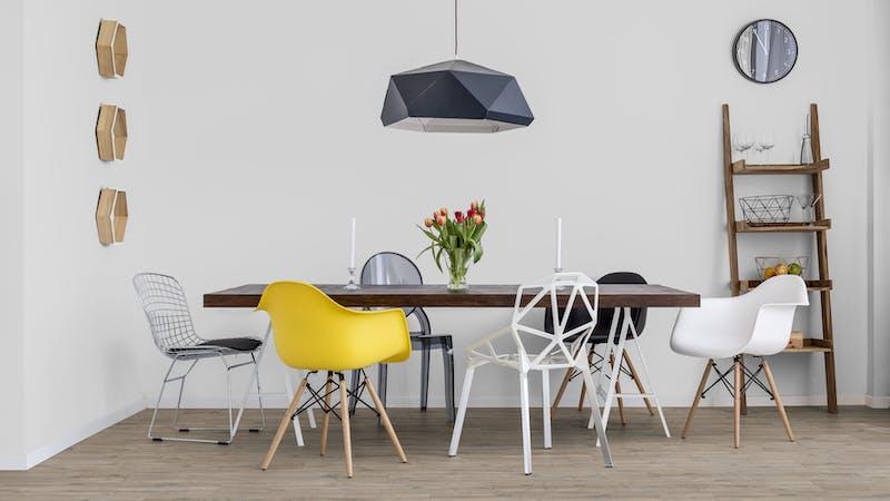 Klick-Vinyl BoDomo Klassik Bergkiefer Produktbild Küche & Esszimmer - Modern mit Treppe zoom