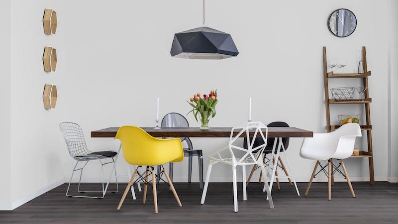 Rigid-Vinyl ohne integrierte Dämmung Windmöller wineo 600 #ModernPlace Produktbild Küche & Esszimmer - Modern mit Treppe zoom