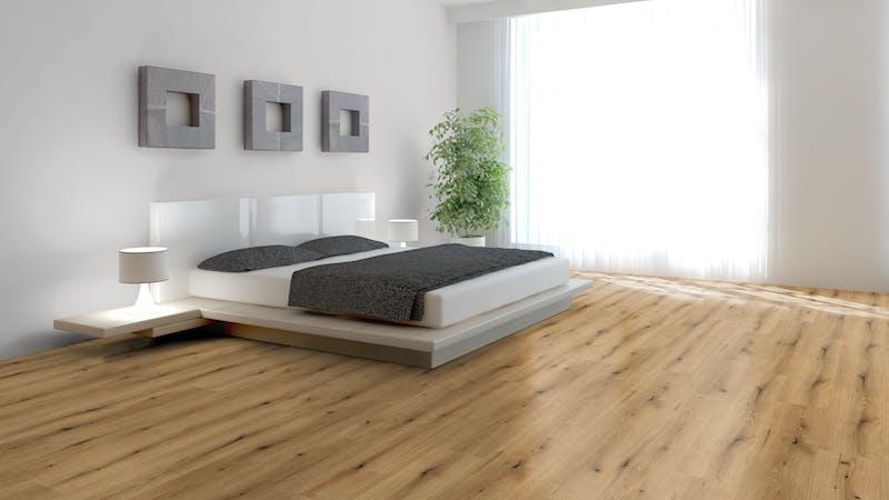 Laminat BoDomo Exquisit Roble Borbon Produktbild Schlafzimmer - Urban zoom