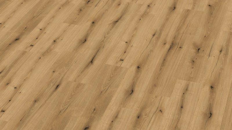 Laminat BoDomo Exquisit Roble Borbon Produktbild Musterfläche von oben grade zoom