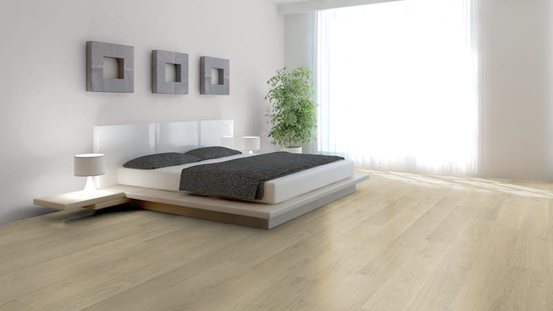 Laminat BoDomo Klassik Elegant Oak Nature Produktbild Schlafzimmer - Urban zoom
