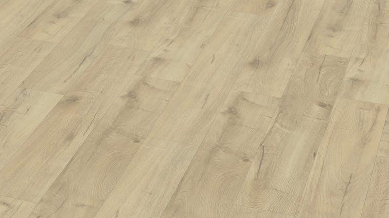 Laminat BoDomo Premium Basket Oak Nature Produktbild Musterfläche von oben grade zoom