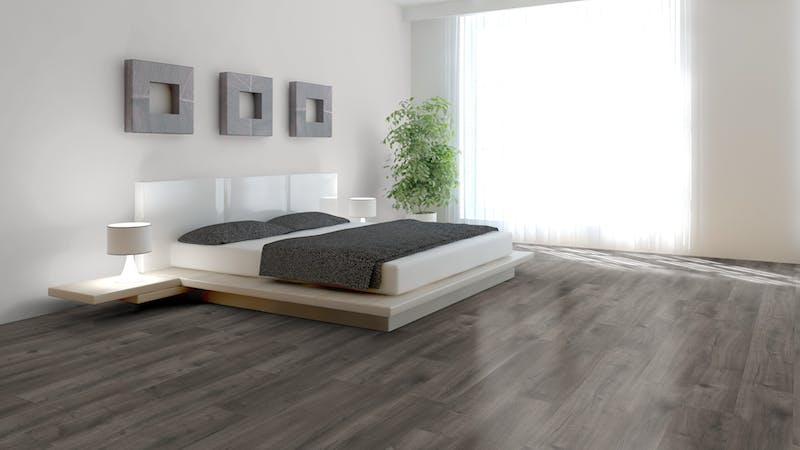Laminat BoDomo Exquisit Scarlet Oak Grey Produktbild Schlafzimmer - Urban zoom