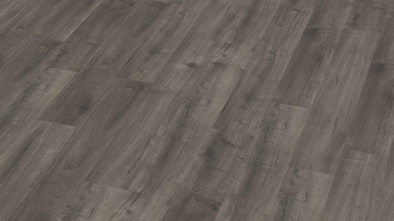 Laminat BoDomo Exquisit Scarlet Oak Grey Produktbild Musterfläche von oben grade zoom