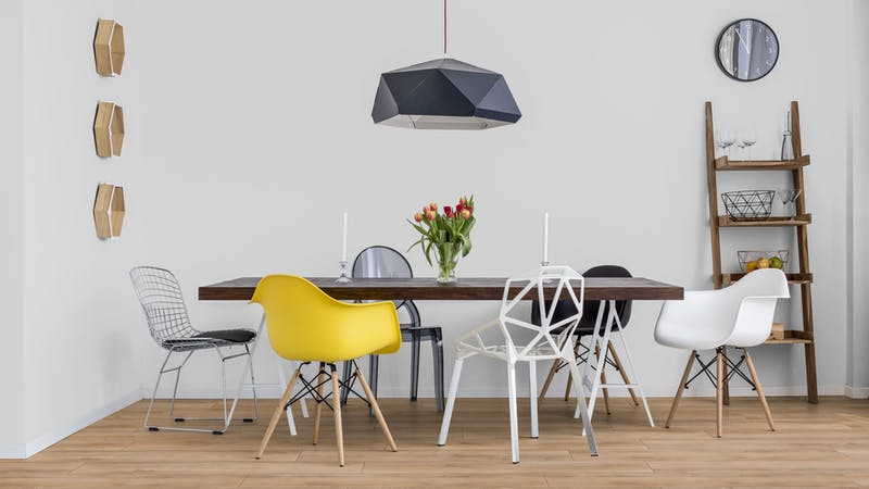 Laminat BoDomo Exquisit Roble Verano Miel Produktbild Küche & Esszimmer - Modern mit Treppe zoom