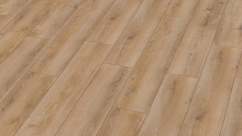 Laminat BoDomo Exquisit Roble Verano Miel Produktbild Musterfläche von oben grade zoom