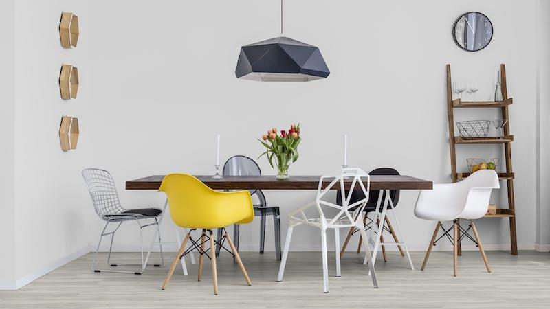 Klick-Vinyl BoDomo Exquisit New Cimba Oak Light Grey Produktbild Küche & Esszimmer - Modern mit Treppe zoom