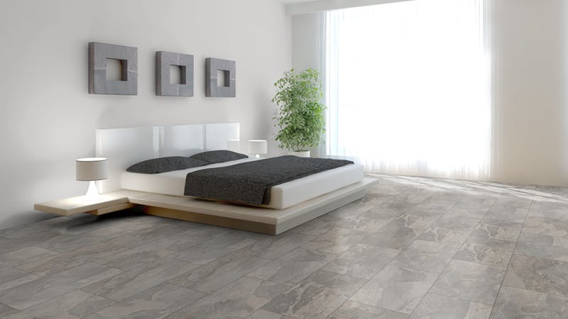 Laminat Kronoflooring O.R.C.A. Amazon Slate Produktbild Schlafzimmer - Urban zoom
