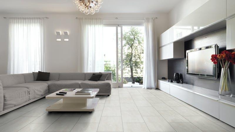 Laminat Kronoflooring O.R.C.A. Mississippi Slate Produktbild Wohnzimmer - Urban mit Wohnwand zoom