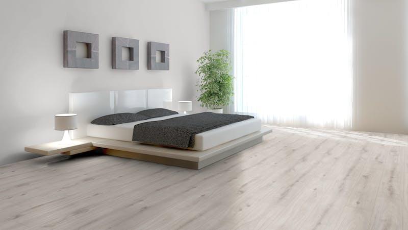 Laminat Kronoflooring O.R.C.A. Atlantic Oak Produktbild Schlafzimmer - Urban zoom