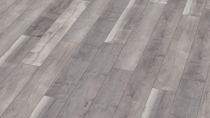 Laminat BoDomo Premium Fera Oak Grey Produktbild Musterfläche von oben grade zoom