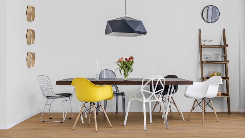 Rigid-Vinyl mit integrierter Dämmung CoreTec Naturals Lumber Produktbild Küche & Esszimmer - Modern mit Treppe zoom