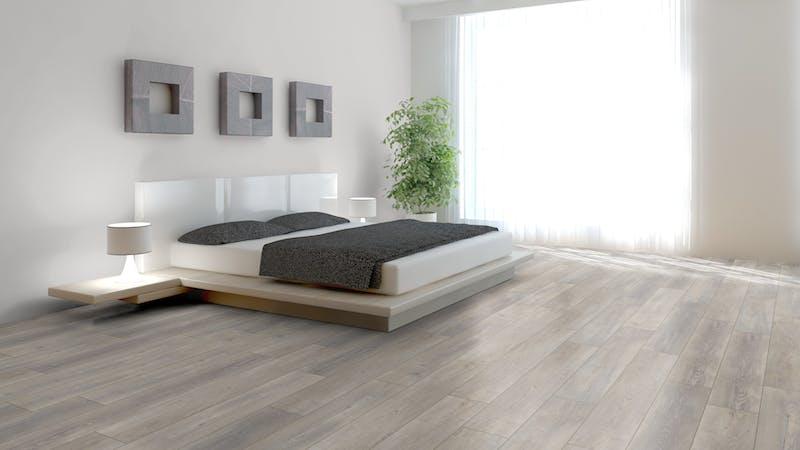 Rigid-Vinyl mit integrierter Dämmung CoreTec Naturals Haze Produktbild Schlafzimmer - Urban zoom
