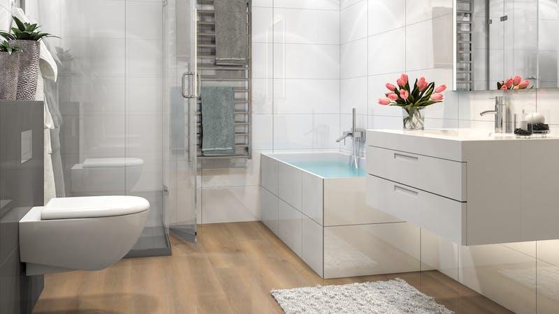 Multilayer BoDomo Premium Salinas Oak Produktbild Badezimmer - Klassisch zoom