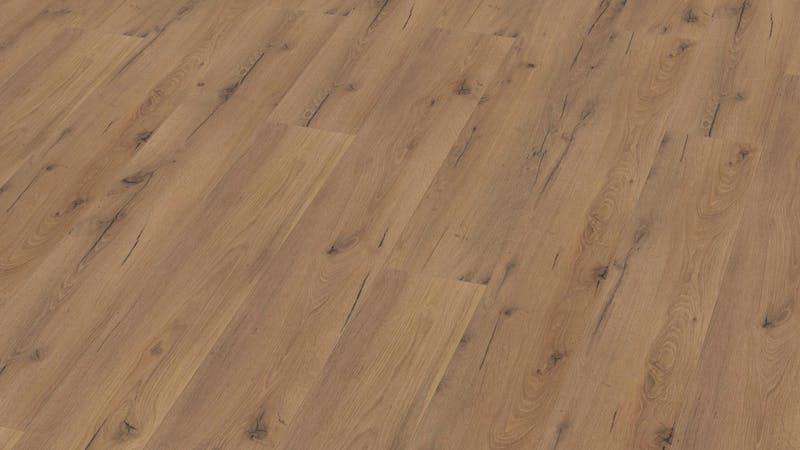 Multilayer BoDomo Premium Rialto Oak Produktbild Musterfläche von oben grade zoom