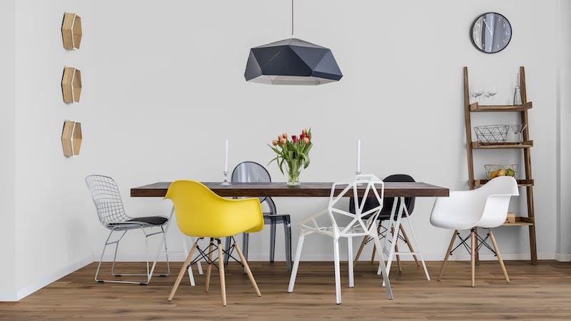 Rigid-Vinyl mit integrierter Dämmung BoDomo Exquisit Kibo Oak Produktbild Küche & Esszimmer - Modern mit Treppe zoom