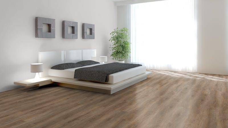 Rigid-Vinyl mit integrierter Dämmung BoDomo Exquisit Meru Oak Produktbild Schlafzimmer - Urban zoom
