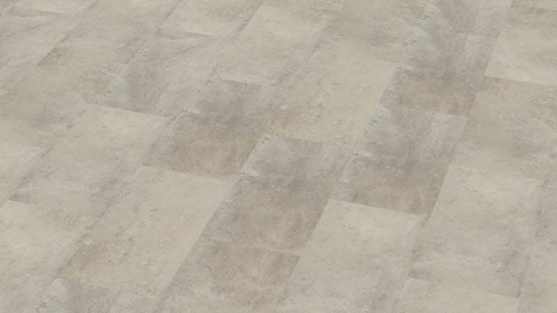Rigid-Vinyl mit integrierter Dämmung BoDomo Exquisit Plaza Crema Produktbild Musterfläche von oben grade zoom